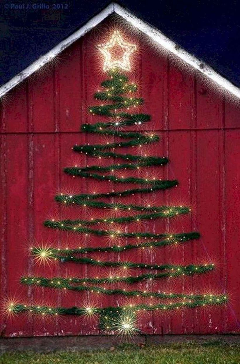 20 DIY Christmas Outdoor Decorations Ideas   Decorating with ...