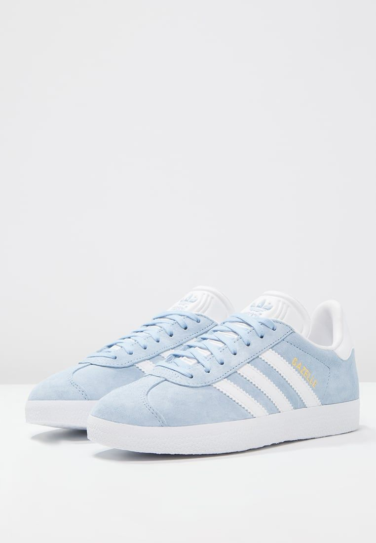 adidas Originals GAZELLE Sneakers clear skywhitegold