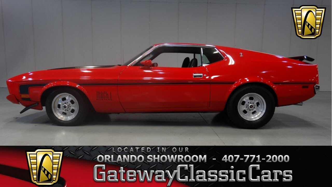1973 Ford Mustang Mach 1 Gateway Classic Cars Orlando | Classic Cars ...