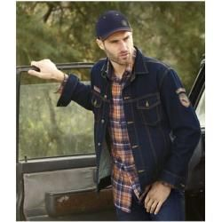 Jeansjacke Outdoor Exploration Atlas For Men