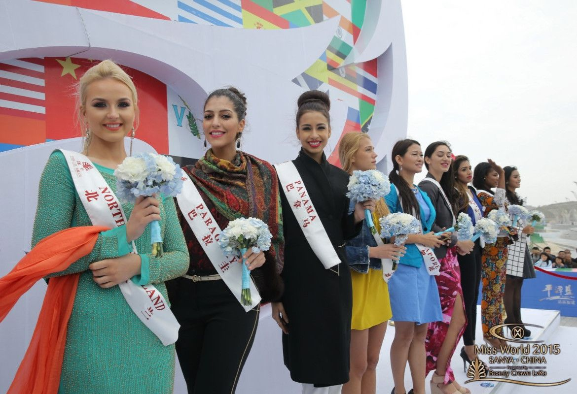 Miss World 2015 contestants visit Pingtan Island #missworld #missworld2015