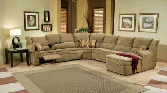 Best Sectional sofa with chaise and recliner luxury ...