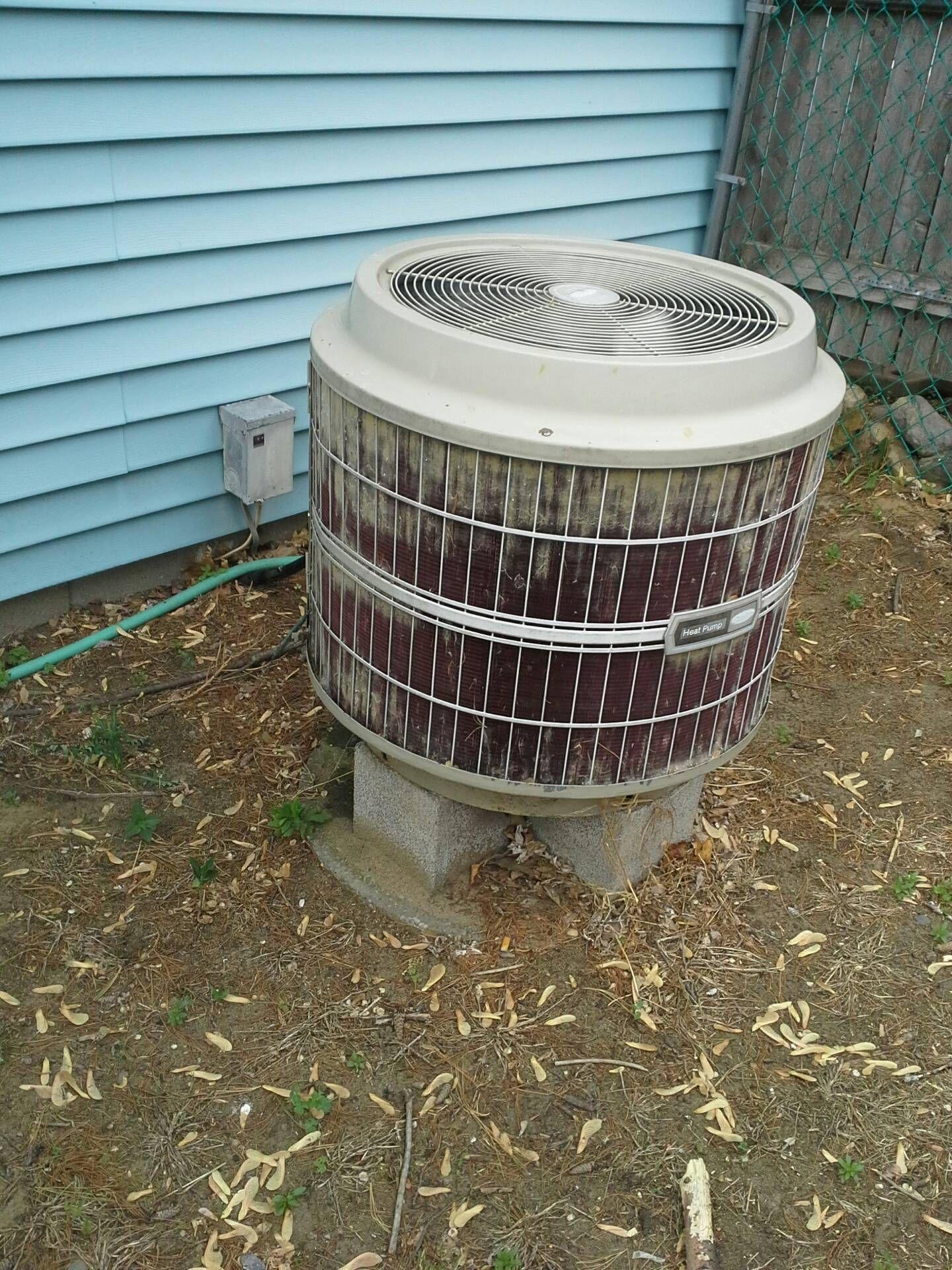 Image Result For Old Ruud Heat Pump Condenser Outdoor Ottoman Outdoor Outdoor Decor
