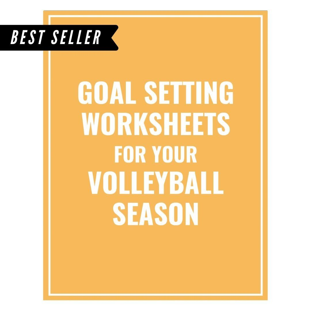 Volleyball Goal Setting Packet In