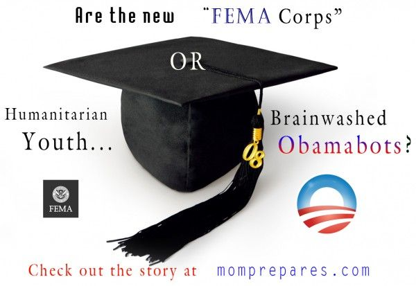 Young Army or Humanitarian Youth? #obamabots? #obamasarmy? Only at momprepares.com