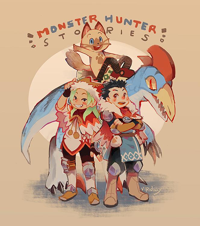 Mhst 171030 By Viridilly Monster Hunter World Monster Hunter Art Monster Hunter