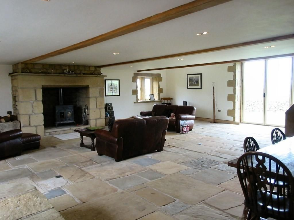 Stone Flooring Living Room