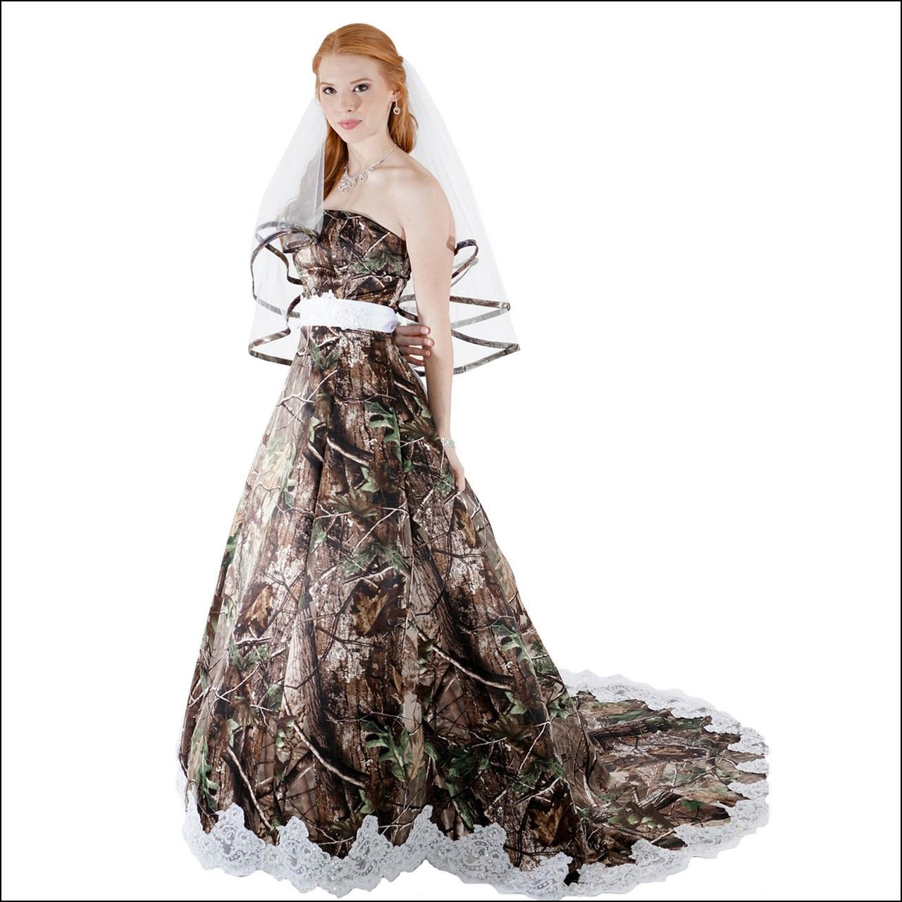 Wedding dresses camo  Camouflage Wedding Gown  Dresses and Gowns Ideas  Pinterest