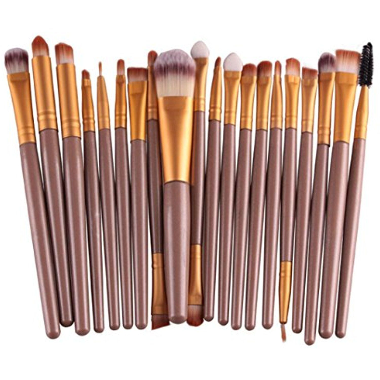 Cleaning Tools Bessky 20 pcs/set Makeup Brush Set tools Wool Make Up Brush Set Make-up Toiletry Kit Health & Personal Care