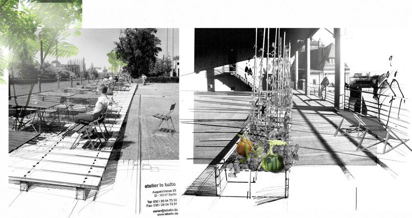 jardin d en haut une spree terrasse 2011 atelier de balto landscape architects berlin. Black Bedroom Furniture Sets. Home Design Ideas