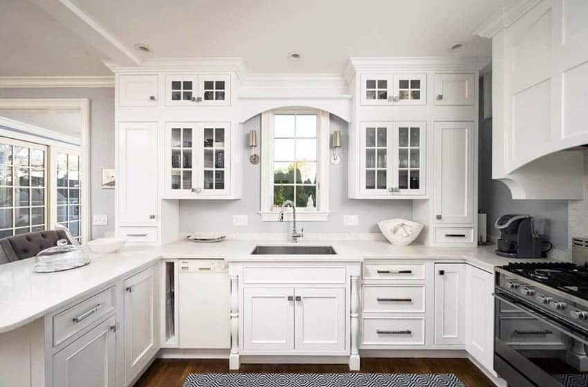 Kitchen Windows Over Sink Design Decor Ideas Sink Design Window Over Sink Kitchen Backsplash Designs