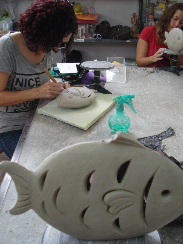 Rakú. Instalación cerámica 2011-12