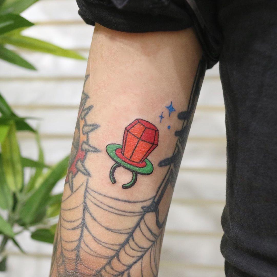 Baby's dummy tattoo by takemymuse in 2020 Tattoos, Neck