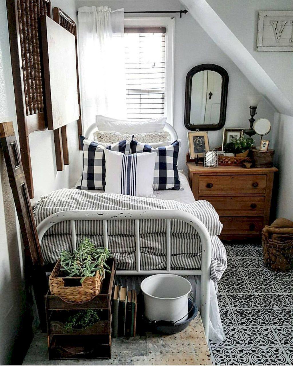 40 Guest Bedroom Ideas: Rustic Master Bedroom Ideas (40)