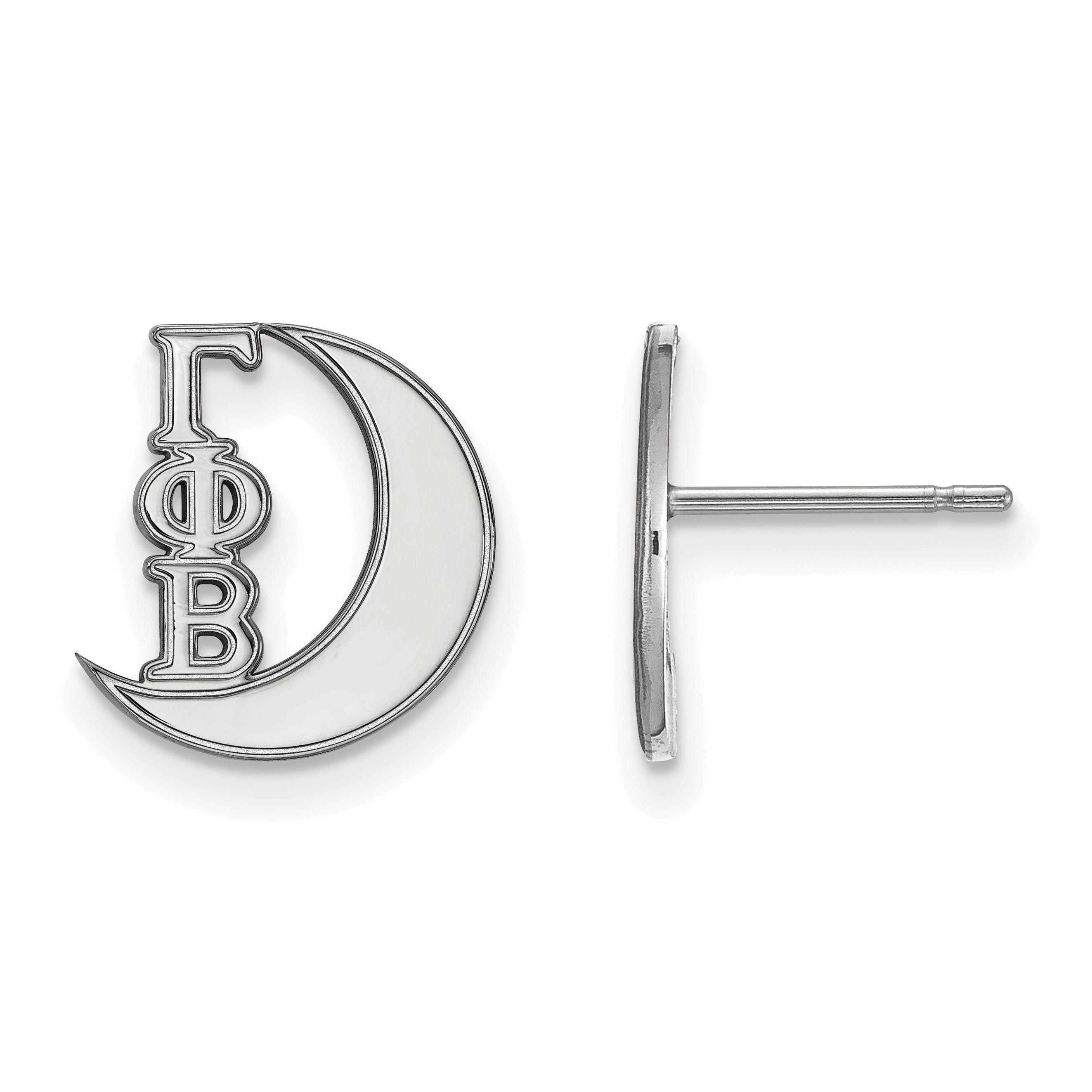 LogoArt SS Gamma Phi Beta Post Earring