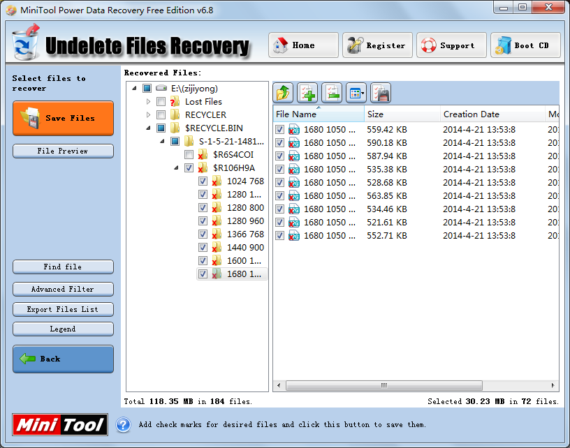 Free Photo Recovery Software for Windows MiniTool
