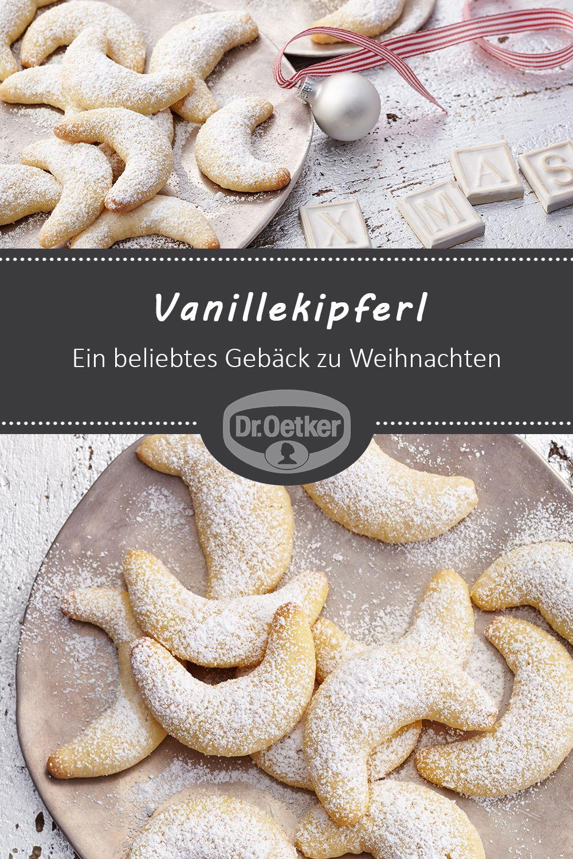 Vanillekipferl: Ein beliebtes Gebäck zu Weihnachten #advent #kaffeetafel #weihnachten
