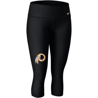 newest d1a2d e5d00 Nike Washington Redskins Ladies Performance Capri Pants ...