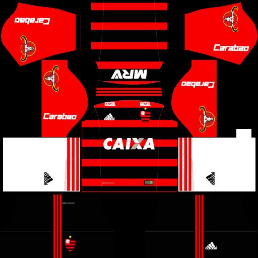 Kit Flamengo 2018 Novo Uniforme Para Dls 19 Dream League Soccer Em 2020 Novos Uniformes Flamengo Uniforme