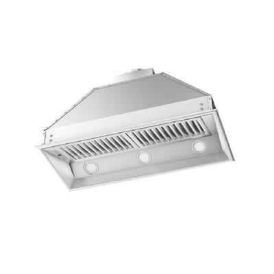 Zline Kitchen And Bath 40 1200 Cfm Ducted Insert Range Hood In 2020 Range Hood Insert Stainless Steel Range Hood Range Hood
