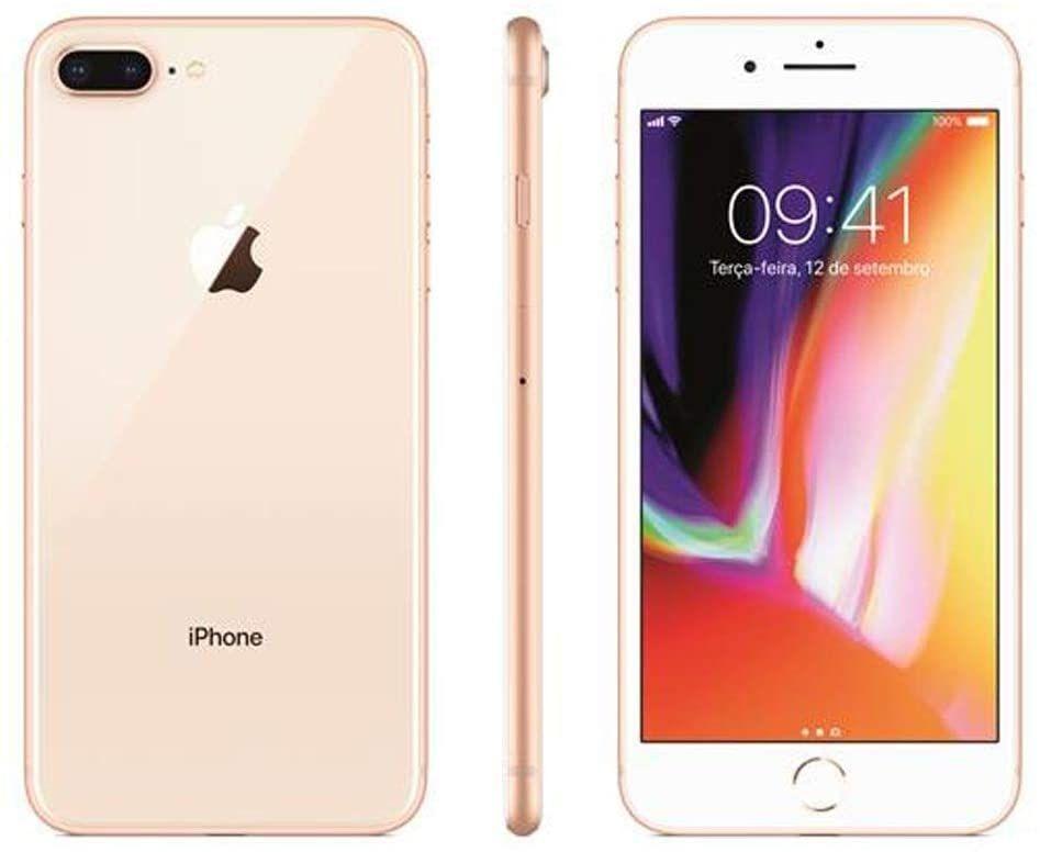 Iphone 8 Plus Apple Dourado 128gb Desbloqueado Mx262br A Iphone 8 Iphone Apple Iphone