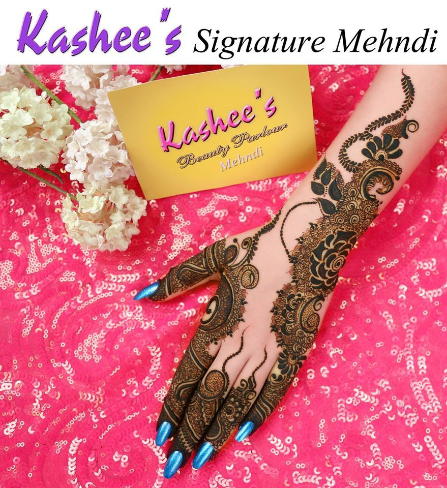 Kashees Mehndi Designs 2017 New Style Simple