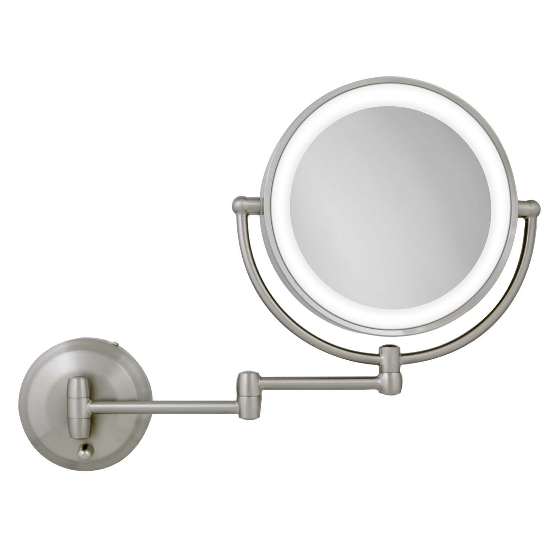 Makeup mirrors zadro xx next generation led wall mount mirror