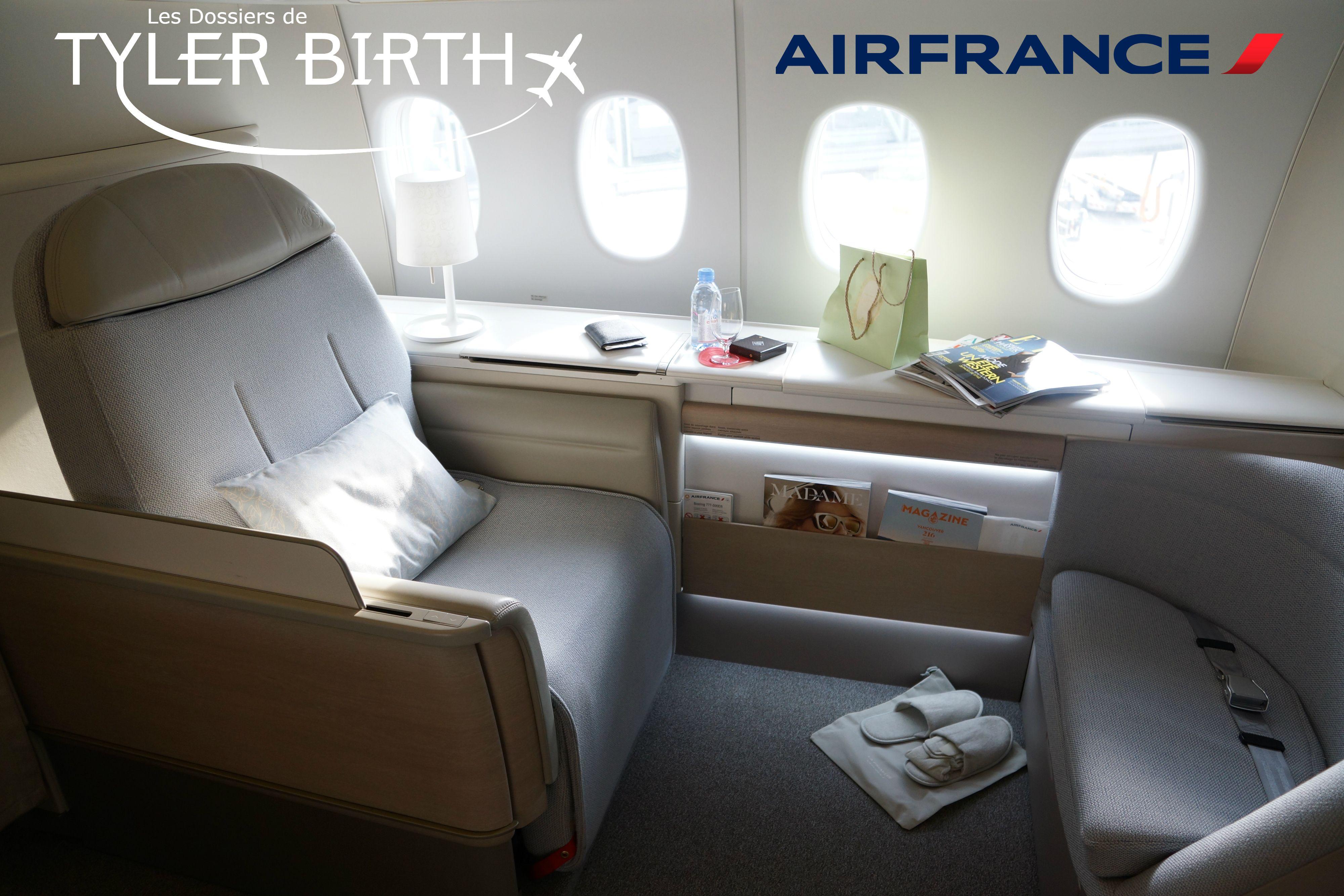 [LES DOSSIERS DE TYLER BIRTH] Air France La Première, un