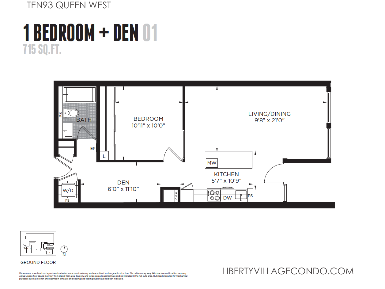 1 Bedroom Condo Floor Plans Design Ideas 2017 2018