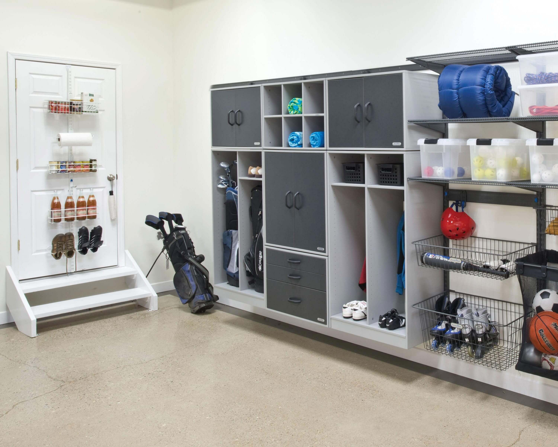 25 Outstanding Garage Shelves Design Ideas To Keep Your Home Always Neat Teracee Garage Hanging Storage Storage Garage Shelving