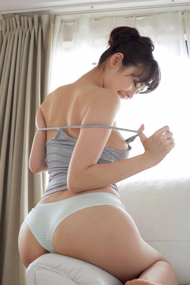 ass asian Sexy girl lingerie