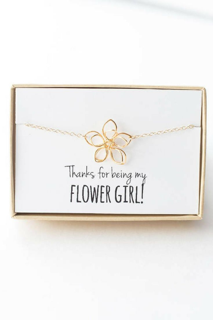 Gift Your Flower Girl Something As Sweet As She Is Personalize The
