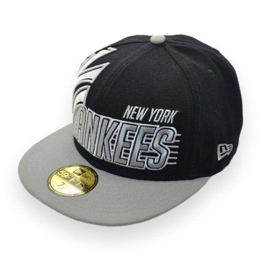 785309e15 NEW ERA NEW YORK YANKEES NY MLB 59FIFTY FITTED SAMPLE BASEBALL CAP 7 1/2