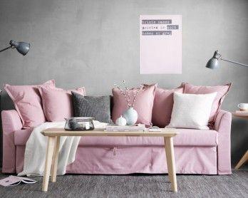 Scandinavian shades - spring living room - Daily Dream Decor