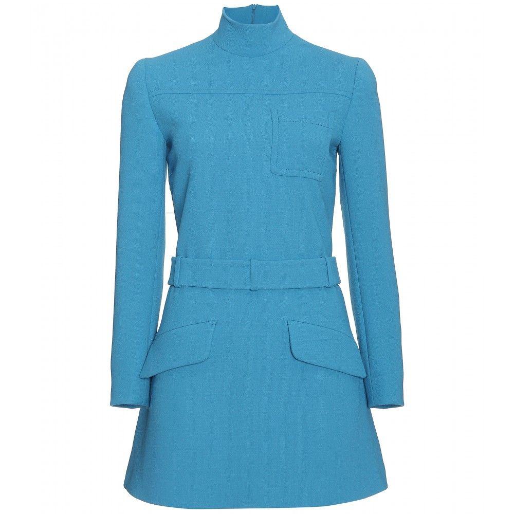 Miu Miu- wool shift dress- fall style !