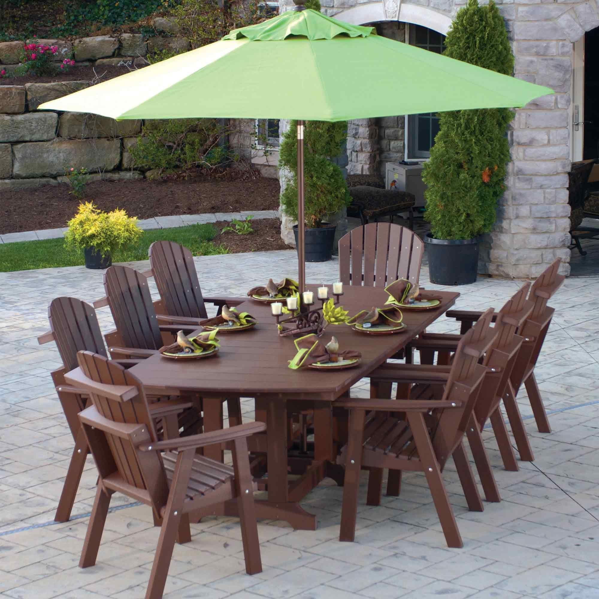 R Dining Set By Berlin Gardens Outdoor Polywood Furniture That Never Fades
