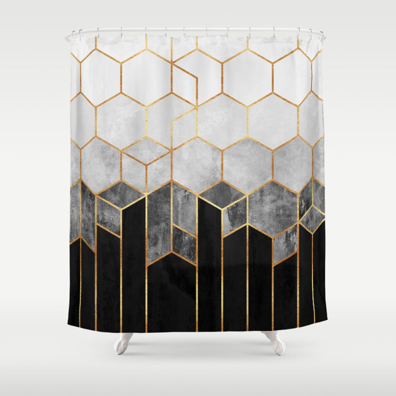 Sweet 12 Amazing Designs Of How To Craft Charcoal Shower Curtain For You In 2020 Geometric Shower Curtain Blue Shower Curtains Unique Shower Curtain