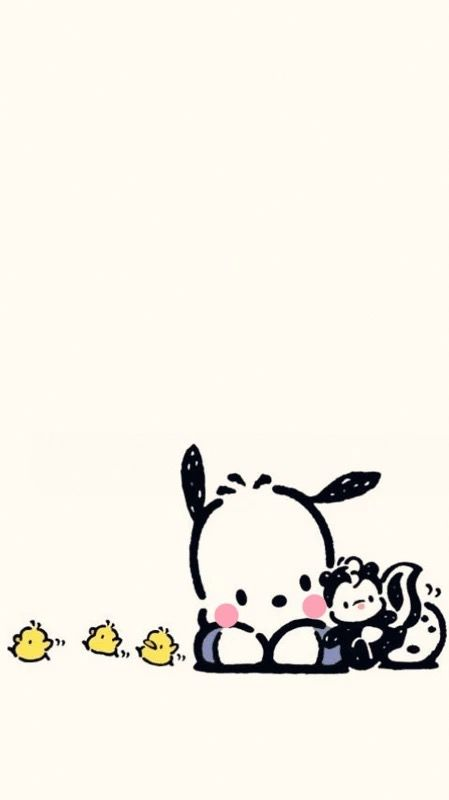 pochacco sanrio sanrio wallpaper hello kitty