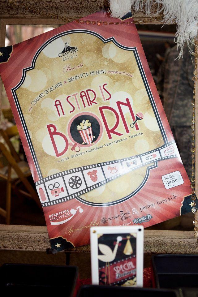 A star is born - baby shower! via #babyshowerideas4u # ...