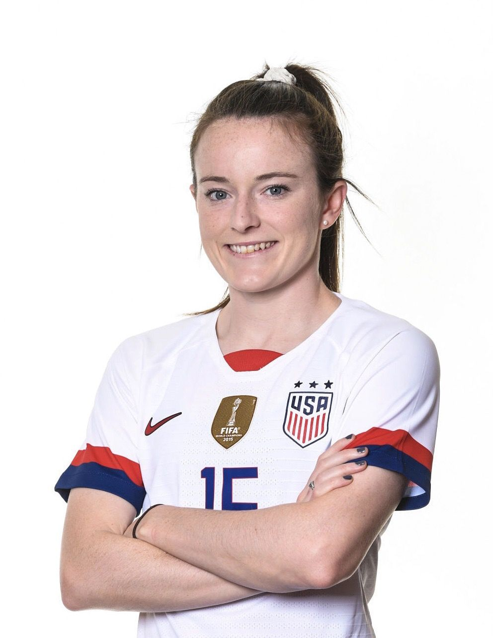 Rose Lavelle 16 Uswnt Official Fifa Women S World Cup 2019 Portrait In 2020 Women S Soccer Uswnt Good Soccer Players