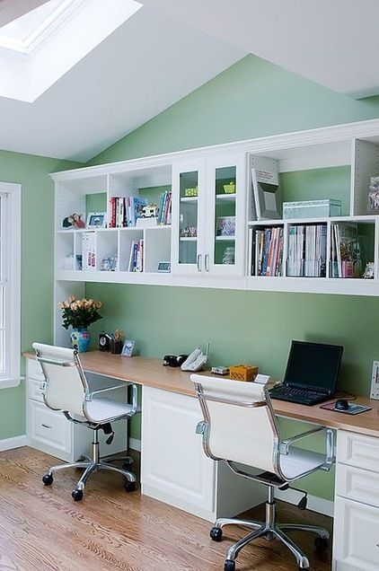 28 Great Real Life Home Offices Home Office Design Home Contemporary Home Office