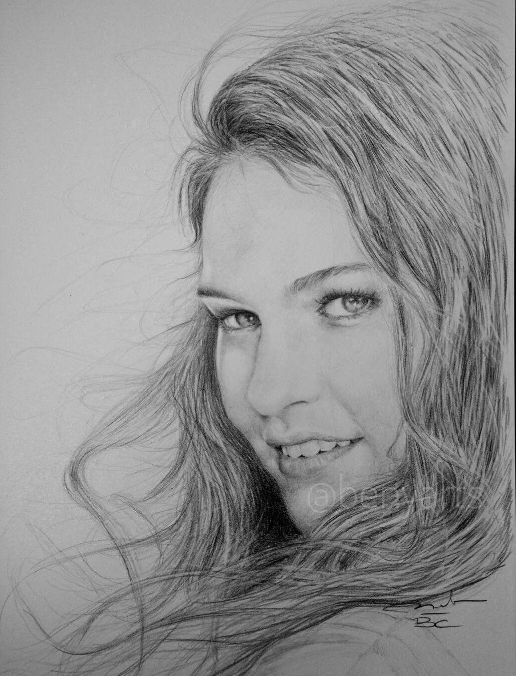 Lily james the portrait drawer benyarts on instagram
