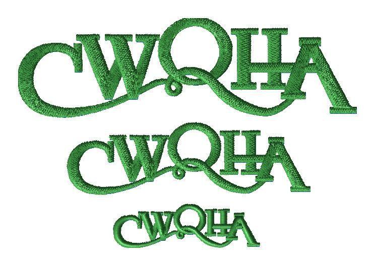 CWQHA custom embroidery design for TB - custom embroidery design