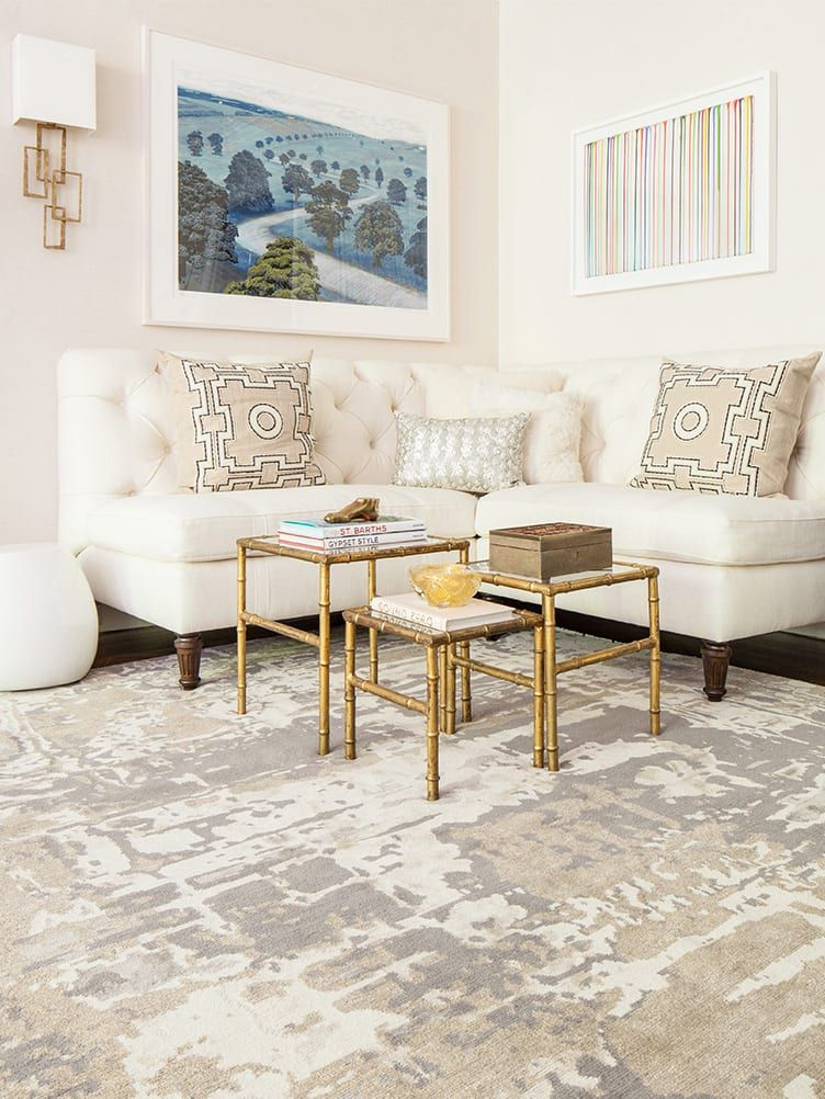 Ashley Stark Shares Her Top Tips For Decorating With Rugs White