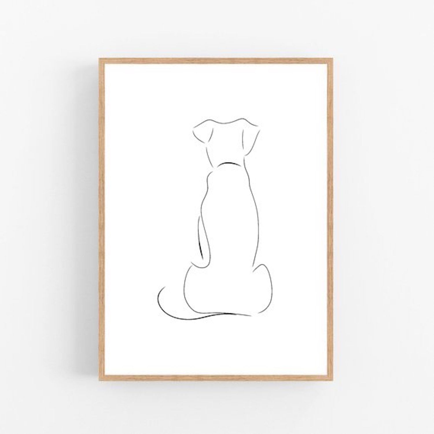 Dog Mom Gift For Fur Mom Pet Lover Wall Art Pet Dad Home Decor Pet Mom Dogs Gift For Dog Lady Gift Unique Adult Gift Modern ART PRINT