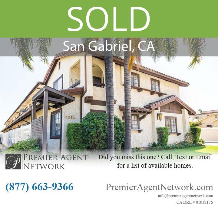 SOLD1368 Elm Ave Unit A San Gabriel CA 91775 SOLD1368 Elm Ave Unit A San Gabriel CA 91775 505000 TWNHS 2 bed 2 bath 1059 sq ft Sold by Jenny Snowie Liu