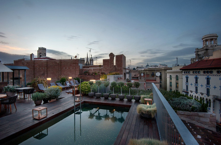 Meet us at ... Mercer Barcelona #rooftopterrace