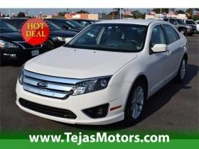 2012 Ford Fusion 4dr Sdn At Tejas Motors In Lubbock Texas Ford