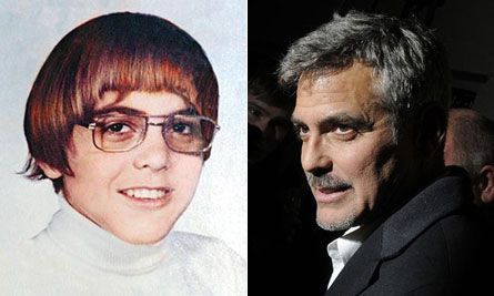 "George Clooney. So glad ""hipster before it was cool"" is famous now."