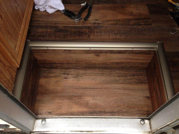 Rv Remodel Repair Stairs Floor Journeyfoot Rv Remodel Stair Remodel Remodel